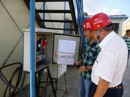 公司东莞城轨项目部认真组织开展施工现场安全质量专项大检查